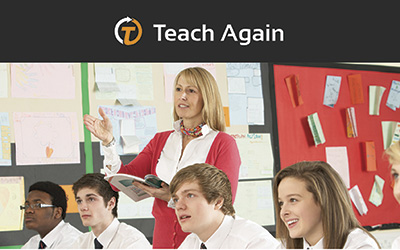 Teach Again Programme news